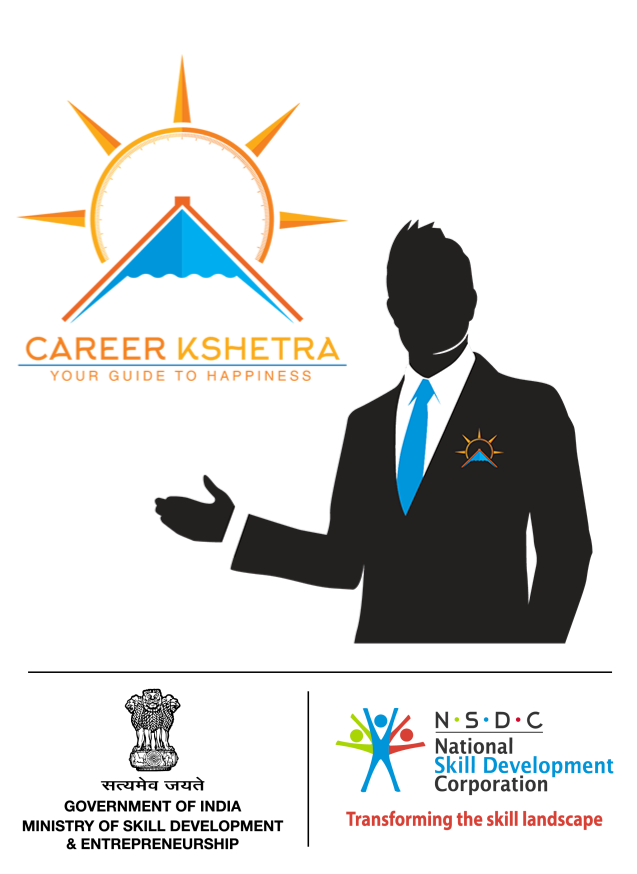 CareerKshetra Logo with MSDE and NSDC logos